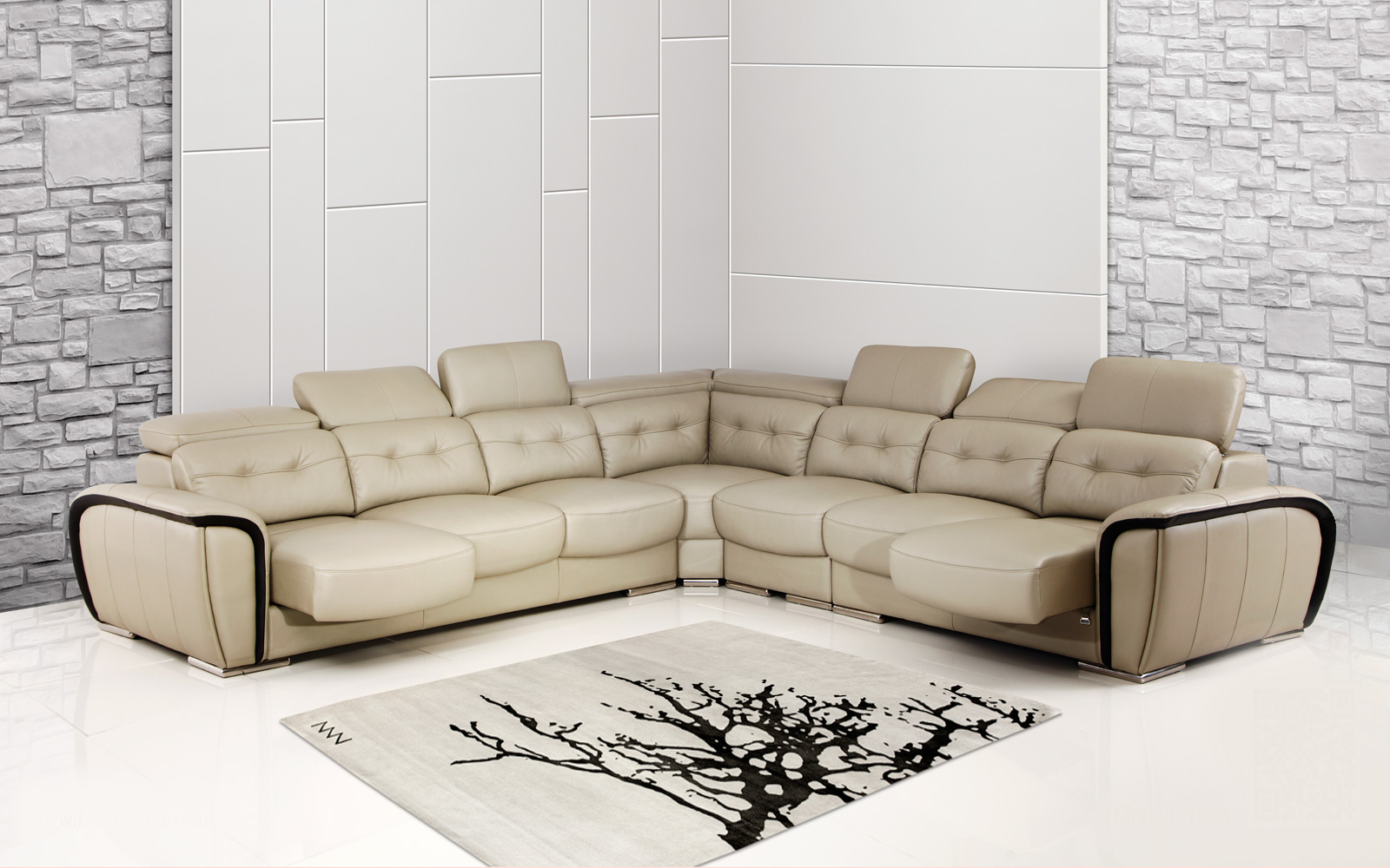 Sofa nhập khẩu có màu sắc bền đẹp cùng thời gian