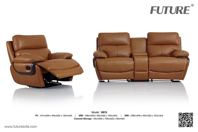 SOFA DA BÒ - FUTURE MODEL 9915 (1R + 2RR)