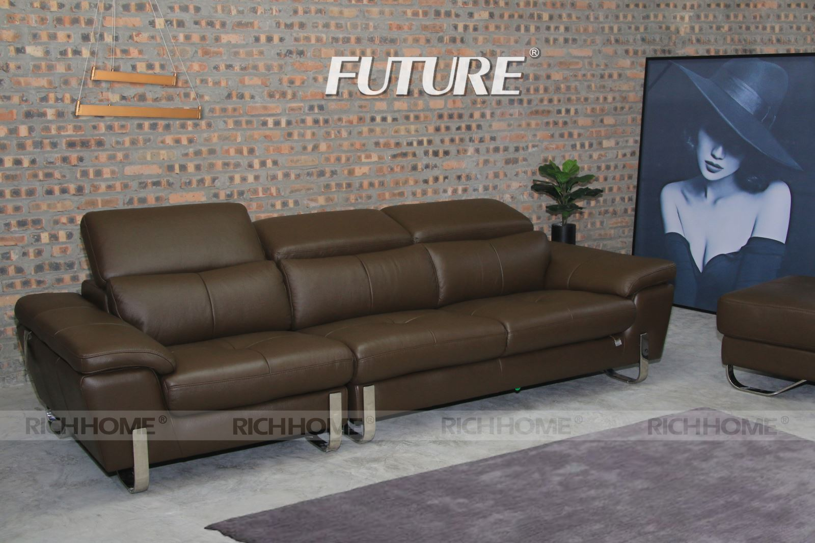 SOFA DA BÒ - FUTURE MODEL 7054 1+2+3