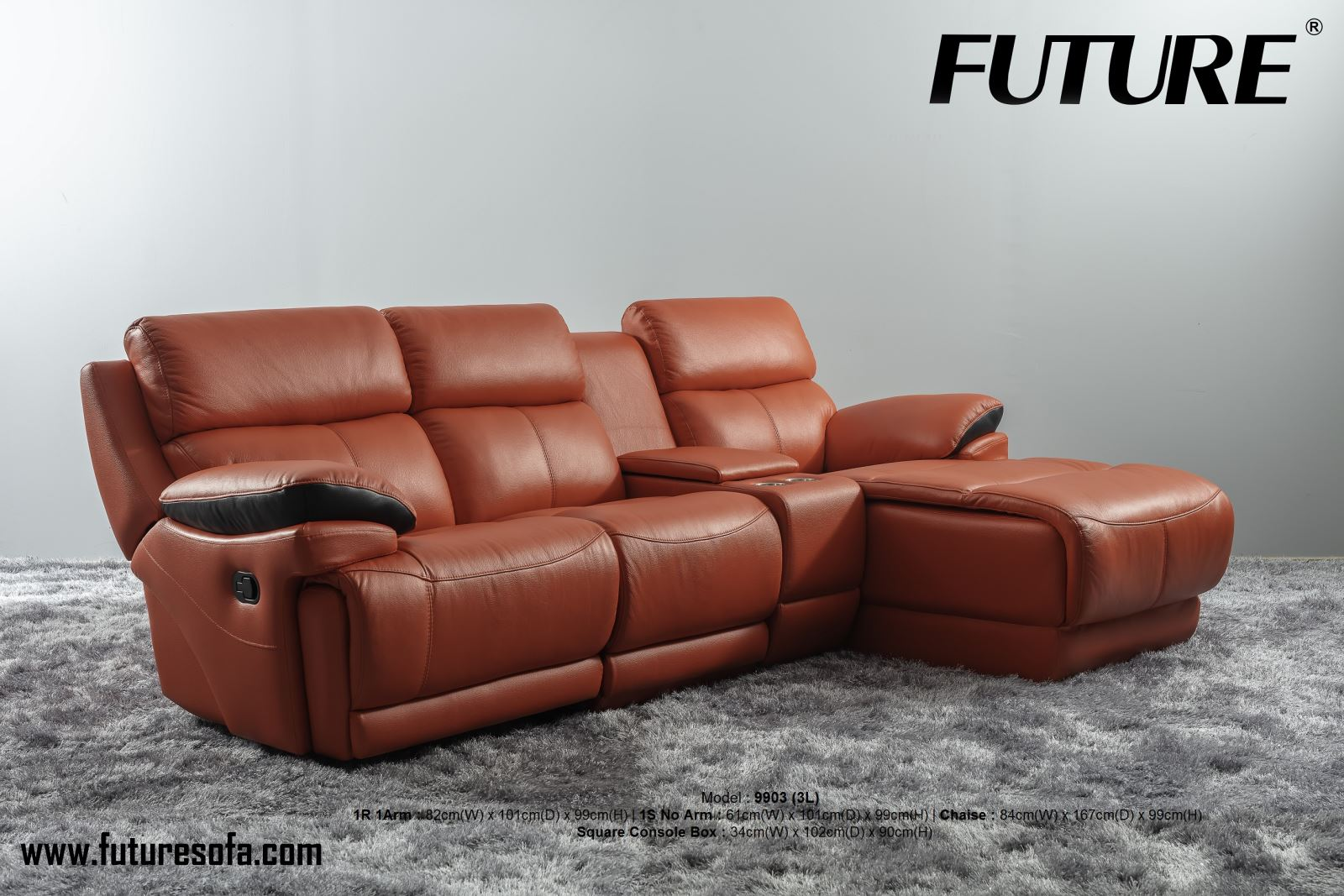 SOFA DA BÒ - FUTURE MODEL 9903 (3L)