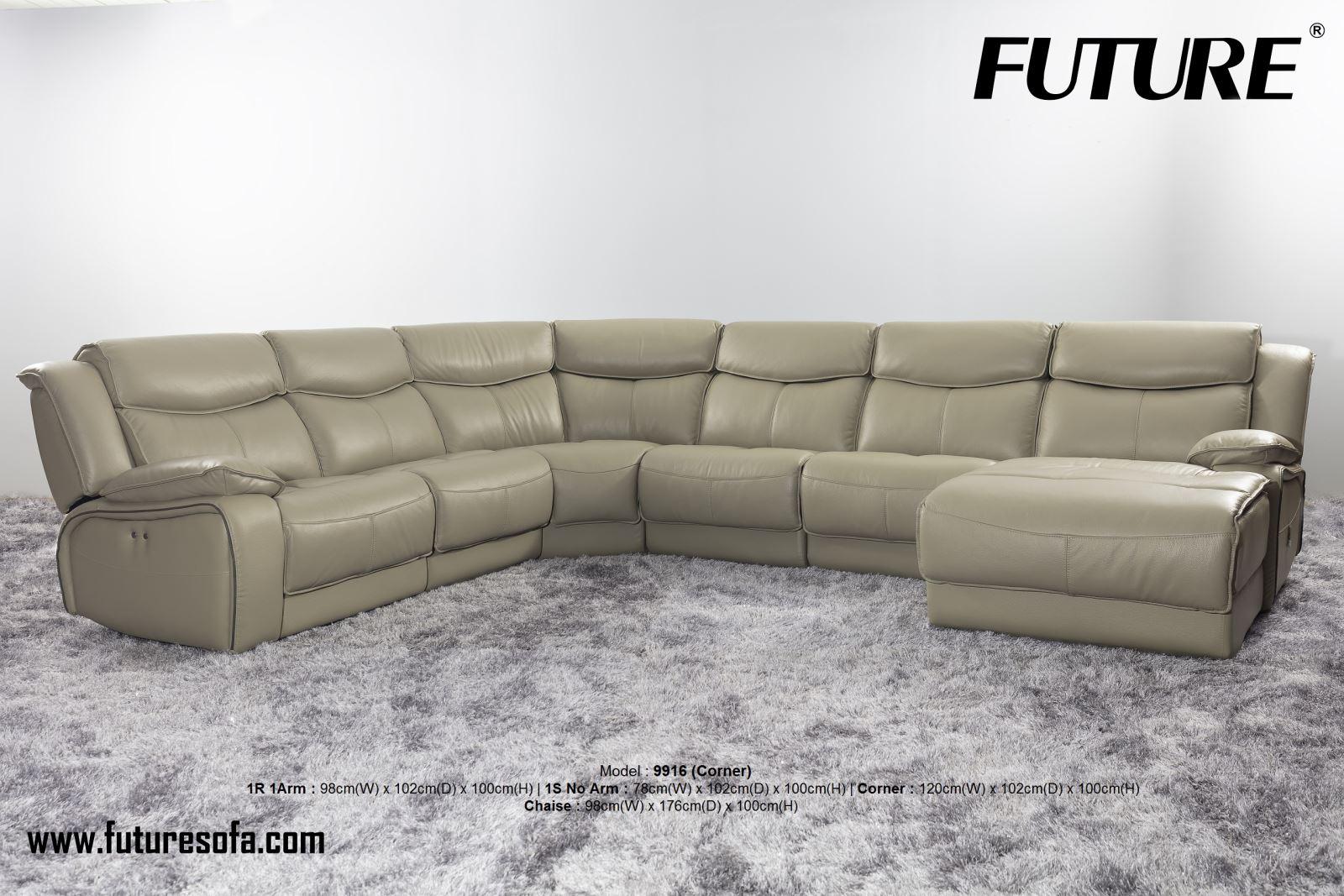 SOFA DA BÒ - FUTURE MODEL 9916 (GÓC)