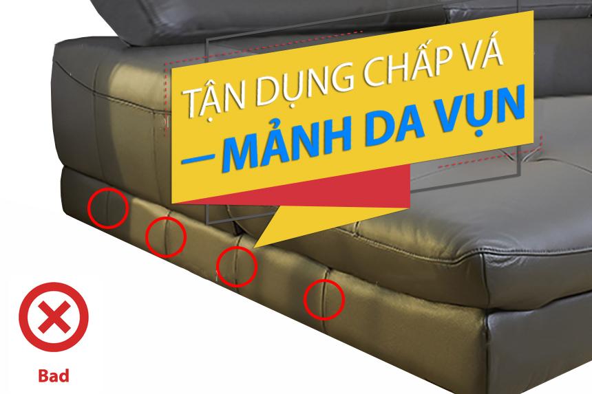 Cách nhận biết sofa nhập khẩu chất lượng kém trên thị trường