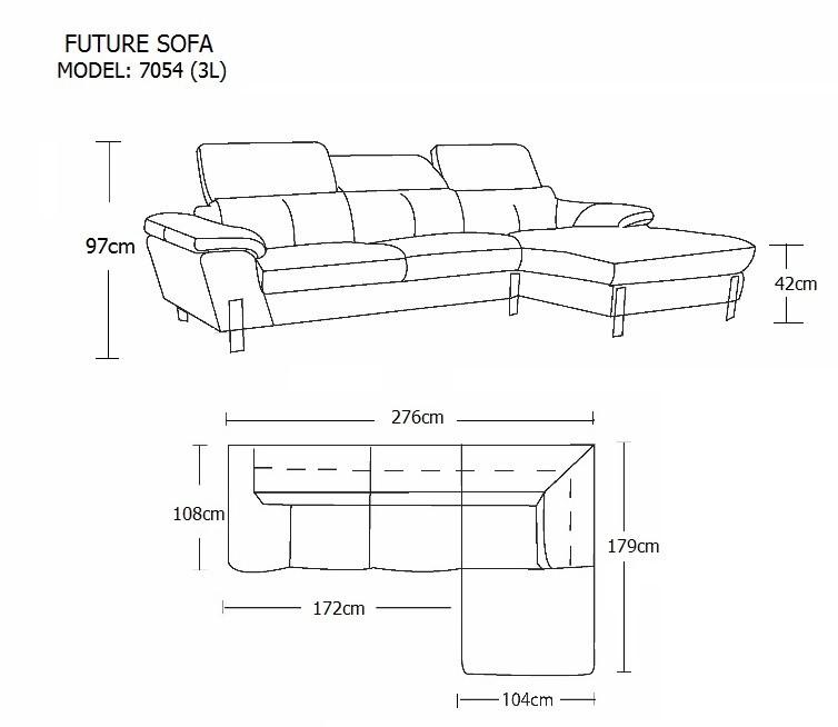 Sofa Da B 210 Future Model 7054 3l