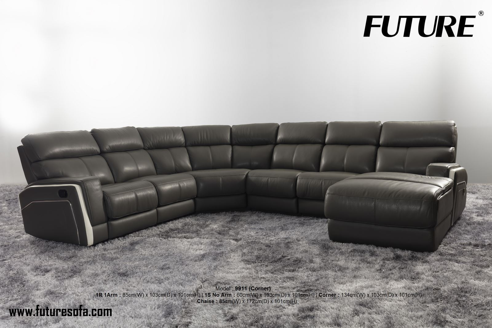 Những bộ sofa màu đen thường mang đến sự sang trọng